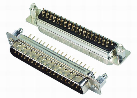 Male Body 37 Pin Connector