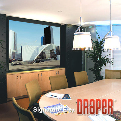 Draper 111612Q Signature / Series E Electric Projection Screen with Quiet Motor