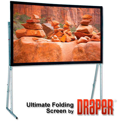 Draper 241011 15FT Ultimate Folding Screen - Matt White XT1000V NTSC