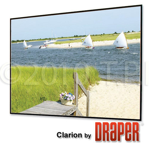 Draper 252019 80x140 Inch 16:9 HDTV Format M1300 Clarion Screen