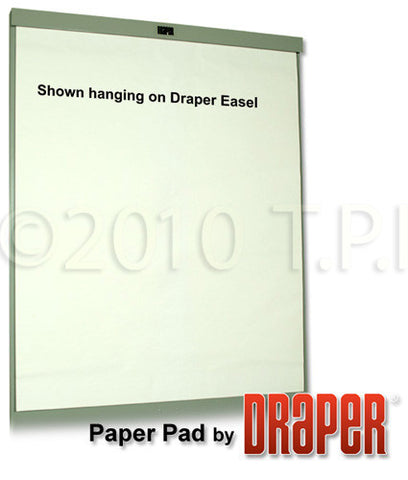 A high quality Image of Draper AV15-40 27in x 34in Paper Easel Pads - 5 Pack