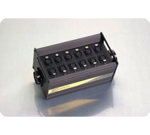 A high quality Image of Gepco DT12 12 XLR Female Junction Box