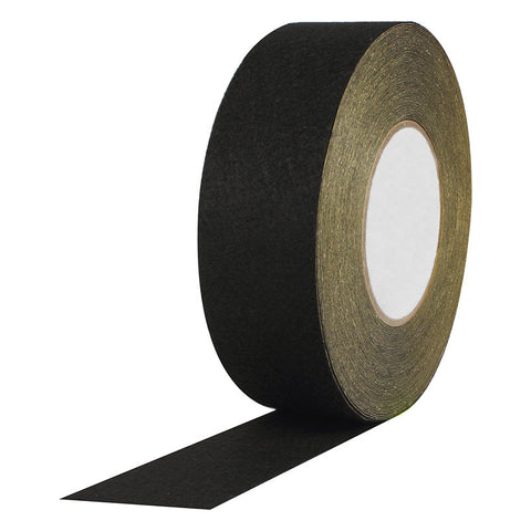 "A high quality Image of Black Polyester Felt with Acrylic Adhesive - 2"" x 25 Yds"