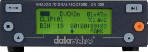 Datavideo DN-200 DV/HDV Hard Disk Recorder With Built-in 250 GB HDD