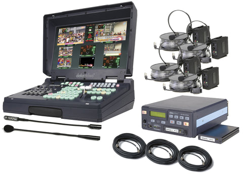 Datavideo HS2000L-HDR Kit 5 Input Mobile Studio & HD/SD-SDI Recorder