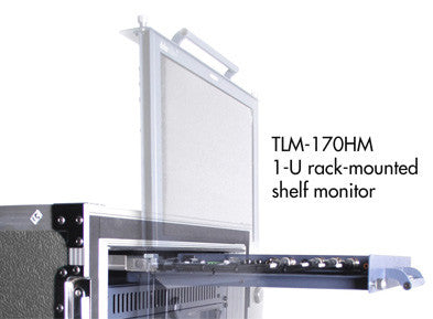 Datavideo TLM-170HM 17.3 Inch HD-SDI LCD Monitor - 1U Pull-Out Rack-Mount