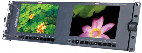Datavideo TLM-702HD LED Backlit Dual Screen Monitor Unit