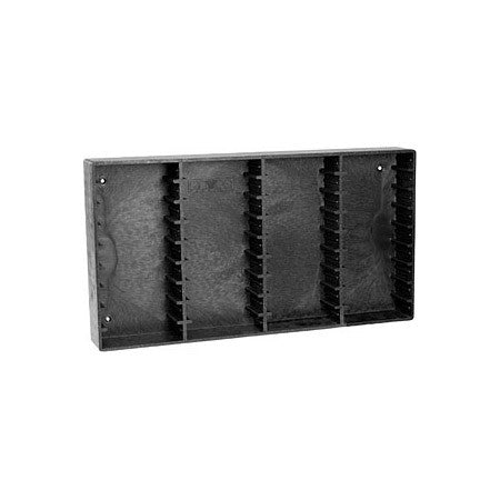 Datrax storage rack holds 36 Small DVCam tapes