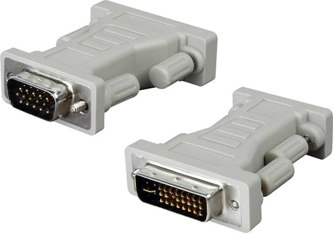 DVI-I Female to VGA Plug Adapter
