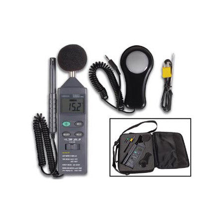 Velleman DVM401 4 in 1 Light Meter Sound Level Meter/Temp Meter/Humidity Meter