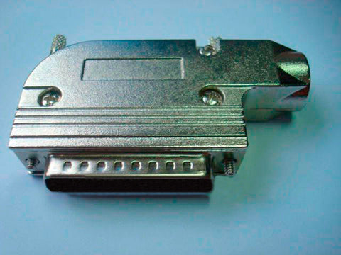 Right Angle Metal Hood for 25-Pin D-Sub Connectors