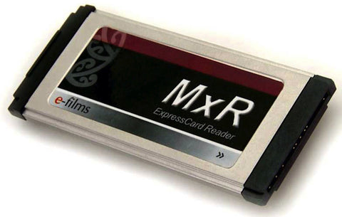 E-Films MxR Express Card Reader for Sony EX1/EX3 Cameras & SDHC Cards