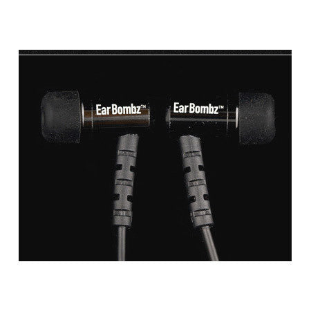 EarBombz Pro-Mic-Black-Dr Pro Series Studio Quality In-Ear Monitors with Mic