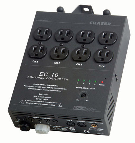 Elminator Lighting EC-16 - Full On And Blackout Controller wCable