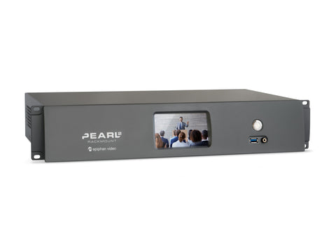 Epiphan ESP1151 Pearl-2 Rackmount 6-Source Live Event Video Production Switching / Streaming / Recorder