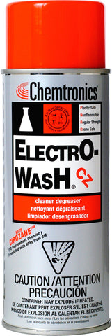 Chemtronics ES7100 Electro-Wash CZ Fiber Optic Cleaner - 12 Oz. Aerosol