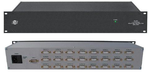 A high quality Image of ESE ES-251 1x24 RS-232 Distribution Amplifier