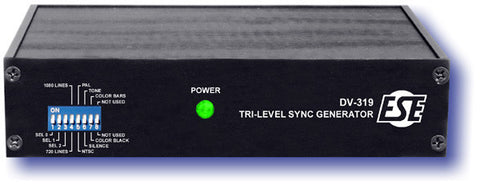 ESE DV-319P HD/SD Sync Generator (With Option P Rackmount)