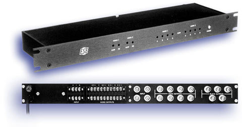 ESE Dual 1 X 4 Audio/Video DA With 5 Black Burst Sync Outputs
