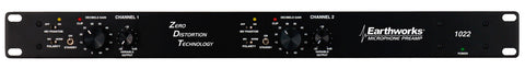 Earthworks 1022-ZDT Two Channel Zero Distortion Preamp