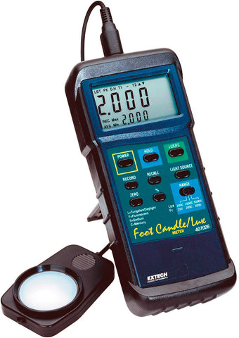Extech 407026 - Heavy Duty Light Meter with PC Interface