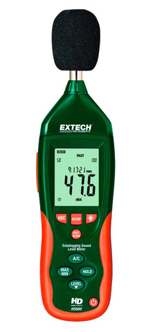 Extech HD600 Sound Level Meter With Datalogger (NIST Certified)
