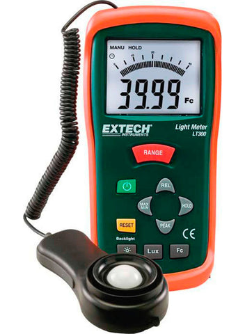 A high quality Image of Extech LT300 Light Meter