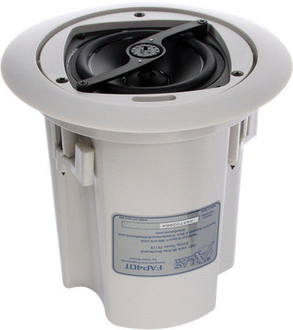 Atlas Sound FAP40T Strategy Series 4 Inch Ceiling Speaker (Each)