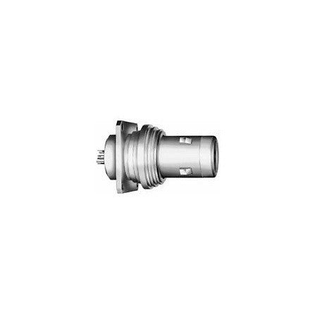 A high quality Image of Lemo FBK.4A.675.CTA Fixed Plug with Square Flange and Tag