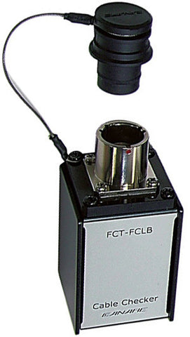 A high quality Image of Canare FCT-FCLB Cable Checker (Loopback Unit)