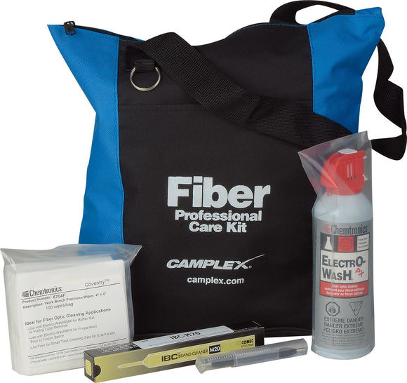 Fiber Optic Cleaning Kit for LEMO Type SMPTE 311M Hybrid Connectors
