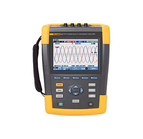 A high quality Image of Fluke 435-II Series II Three-Phase Power Quality and Energy Analyzer