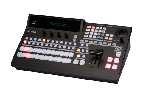 A high quality Image of FOR-A Hanabi XT 1M/E Switcher with HVX-ST110 Control 12 HD Inputs/6 HD & 1 HDMI Out