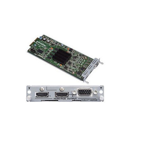 A high quality Image of FOR-A 1 HDMI and 1 HDMI/VGA Output Card