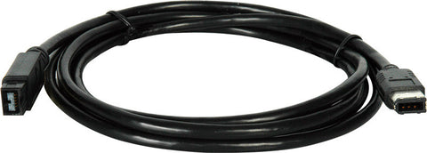 9-Pin to 6-Pin Firewire Cable 10FT