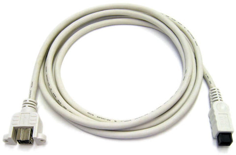 9-Pin Male to 9-Pin Female FireWire 800 Extension Cable 3FT