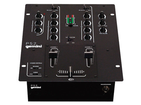 Gemini PS2 2 Channel 10 Inch Mixer