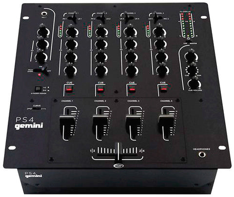 Gemini PS4 4 Channel 12 Inch Mixer