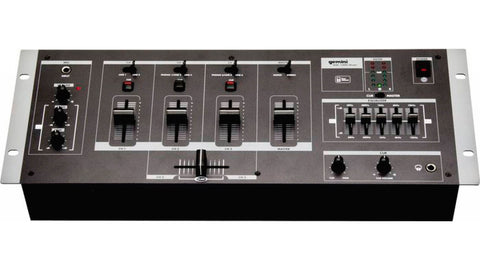 Gemini RMX3 3 Channel 19 Inch Mixer