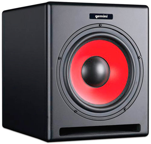 Gemini SR-10SUB 10 Inch Powered Subwoofer