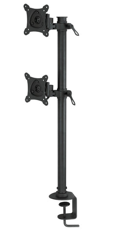 Bentley Mounts D600 Vertical Dual Monitor Stand for 13-24 Inch Screens