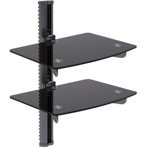 Bentley Mounts DVD-3BE Two Shelf A/V Management System