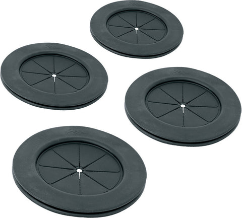 A high quality Image of 4 Inch Black Gland Grommet 4 Pack