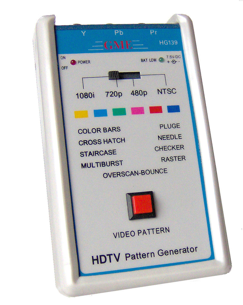 Gme Technology Pg 16a Handheld Ppc Mac Video Pattern Generator W Teac Wiring Color Code With Hd15 S