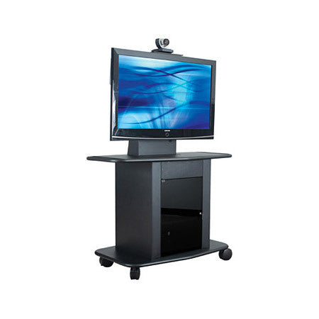 Avteq GMP-300M-TT1 42 In. Tall LCD Cart for Flat Screens up to 55 In.