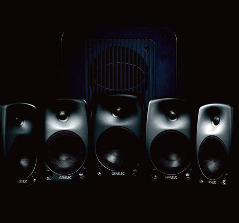 Genelec 8030.LSEBroadcast Pak Broadcast Pak 5.1 System - Producer Black Finish
