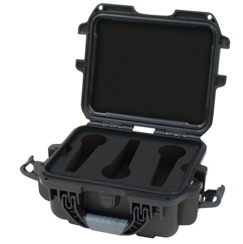 Gator Cases GM-06-MIC-WP Waterproof Mic Case- 6 Mics