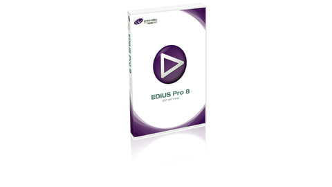 Grass Valley EDIUS Pro 8 Nonlinear Editing Software (Boxed)