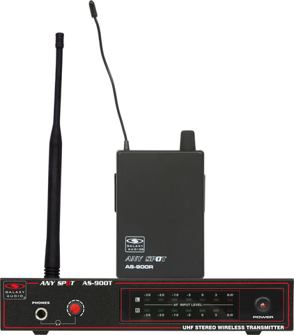 Galaxy Audio AS-900K5 Fixed Frequency Wireless Personal Monitor Freq CODE K5