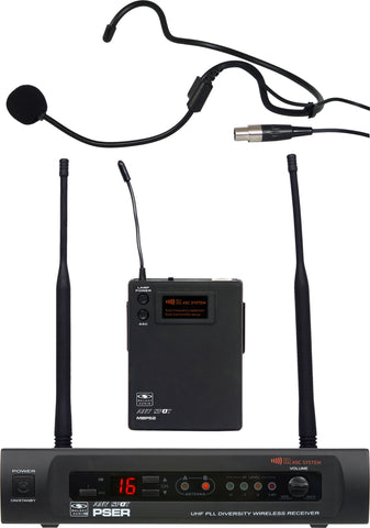Galaxy Audio PSER/52HSL PSE/52HS Headset System Freq CODE L
